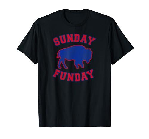 Bills Mafia 716 Buffalo New York Bflo Sunday Funday Football T Shirt