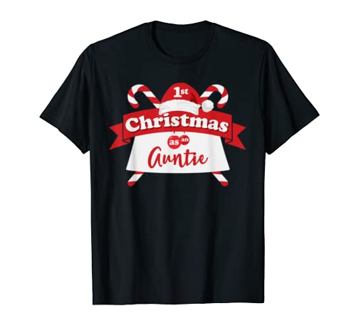 Baby's First Christmas Gift For Aunt Christmas Shirt