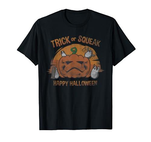 Star Wars Porgs Trick Or Squeak Cute Halloween T Shirt