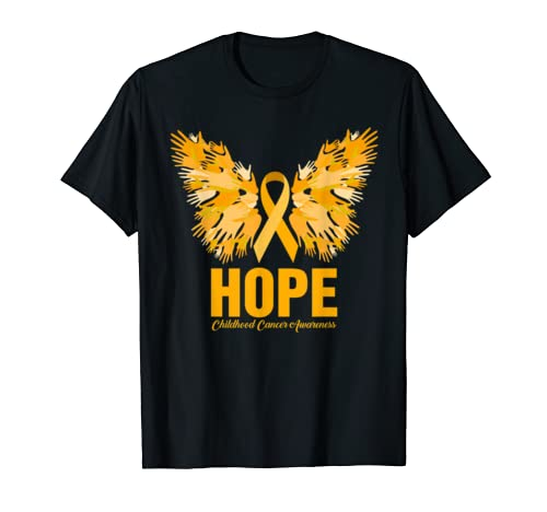 Cool Hope Childhood Cancer Awareness Costume Ribbon Gifts T Shirt