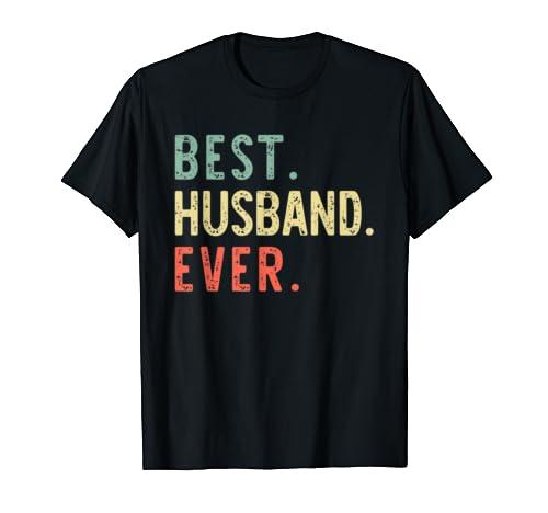 Best Husband Ever Funny Cool Vintage Gift T Shirt