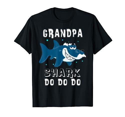Grandpa Shark T Shirt. Doo Doo Doo Funny Grandpa S Hark Tee T Shirt