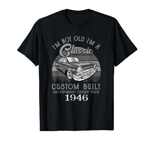 1946 Vintage Funny 73rd Birthday Gift T Shirt T Shirt