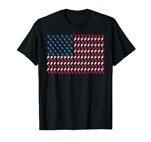 Koala American Flag Bear Us 4th Of July Possum Usa Gift T Shirt