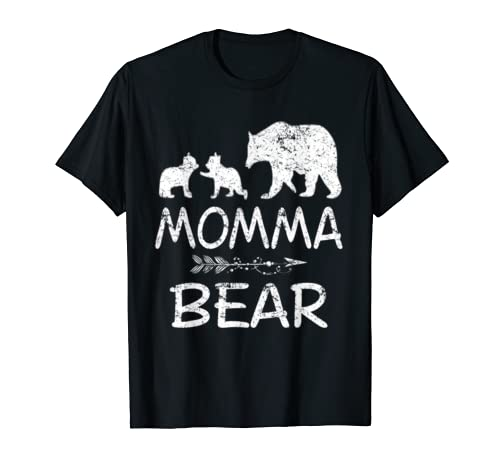Momma Bear With 2 Cubs Shirt Mother's Day