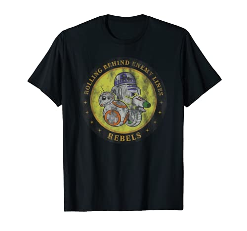 Star Wars The Rise Of Skywalker Rebel Droids  T Shirt