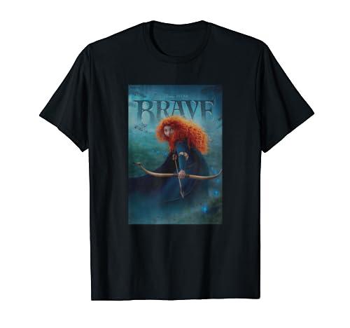 Disney And Pixar Brave Merida Poster T Shirt