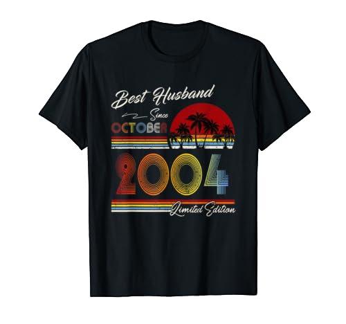Mens 15th Wedding Anniversary Gift For Him 15 Years Best Husband T Shirt