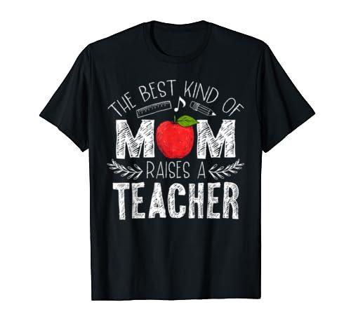 Mom Raises Teacher Shirt Mothers product image
