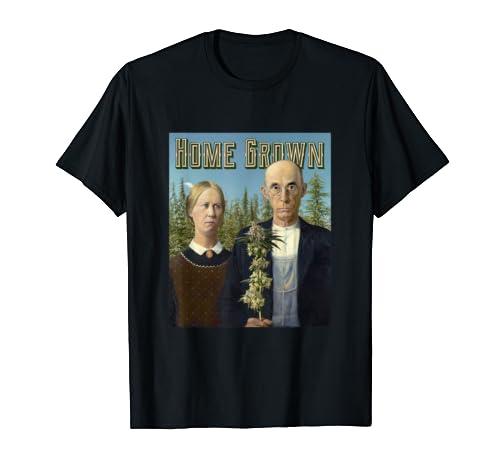 Home Grown Marijuana Growers T Shirt product image