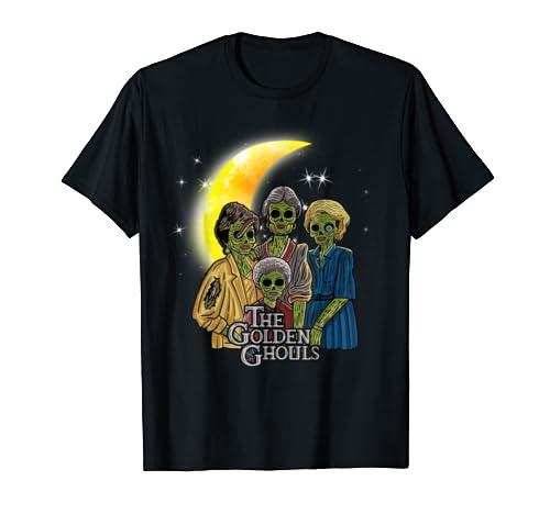 Vintage The Golden Ghouls Custom Shirt Gift For Halloween T Shirt