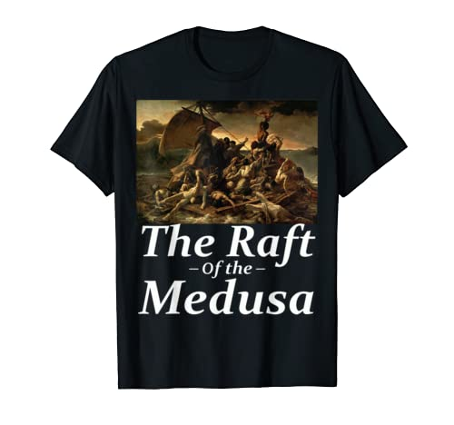 The Raft of the Medusa Classic T Shirt By Theodore Gericault
