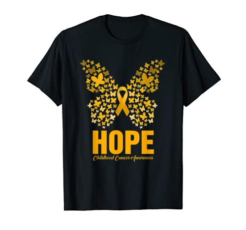 Cool Hope Childhood Cancer Awareness Costume Ribbon Gift Mom T Shirt