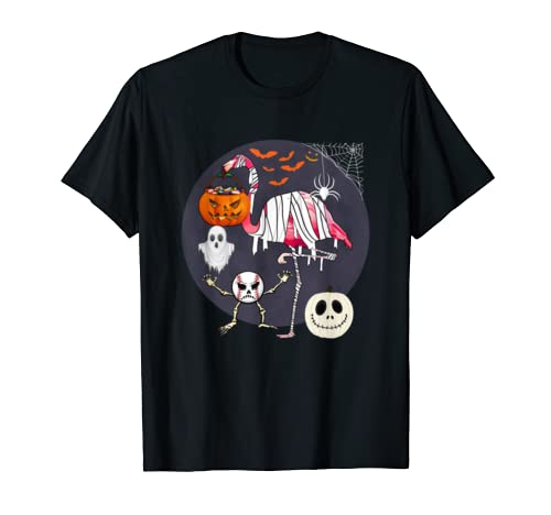 Baseball Flamingo Halloween Costume Flamingo Lover Gift T Shirt