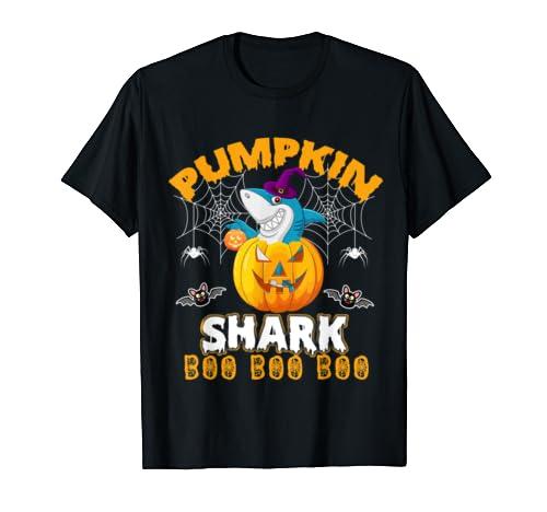 Pumpkin Shark Boo Boo Boo Funny Costume Halloween Gift