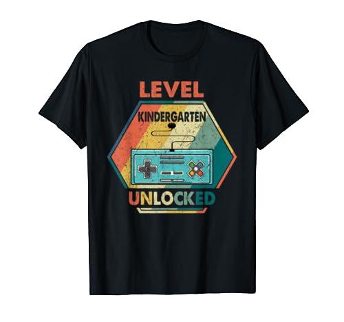 Kindergarten Level Unlocked Graduation Class Of 2019 Shirt