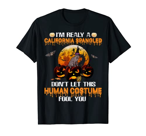 California Spangled Don't Let This Human Costume Fool You T Shirt