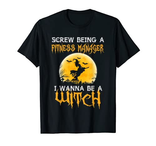 Fitness Manager Shirts Womens Halloween Costumes