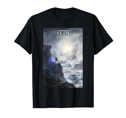 Star Wars Jedi Fallen Order Logo Teaser Poster T Shirt
