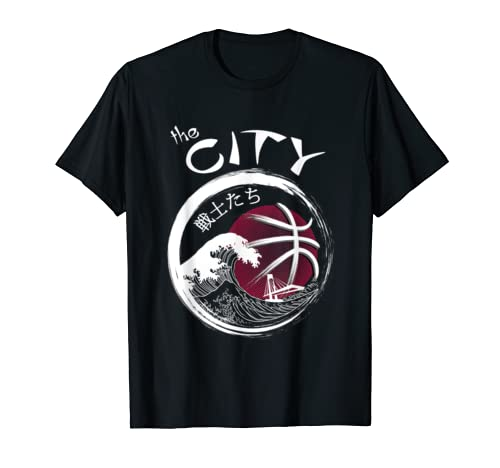 "Japanese Warriors ""The City""   Custom Design T Shirt"