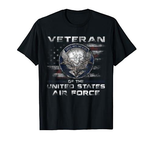 Air Force Veteran T-Shirt Veteran Day T-Shirt for Women Men