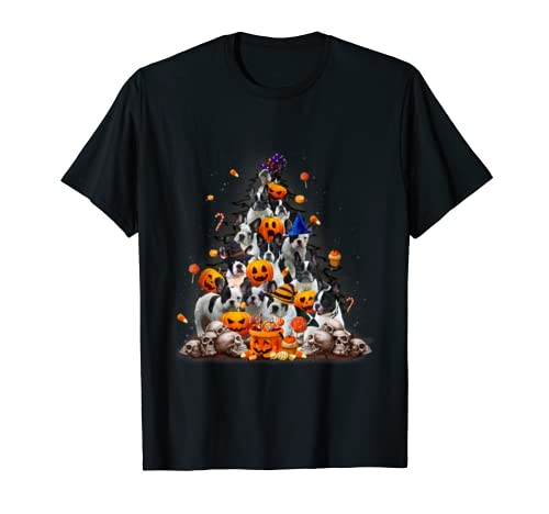 Halloween Frenchie Pumpkin Pine T Shirt Frenchie Gift