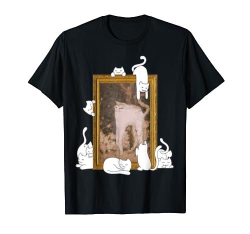 Cute cats t-shirt - Funny cat painting