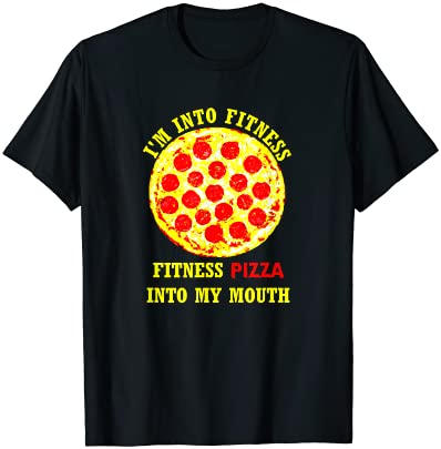 Top 10 Best fitness pizza in my mouth shirt Reviews