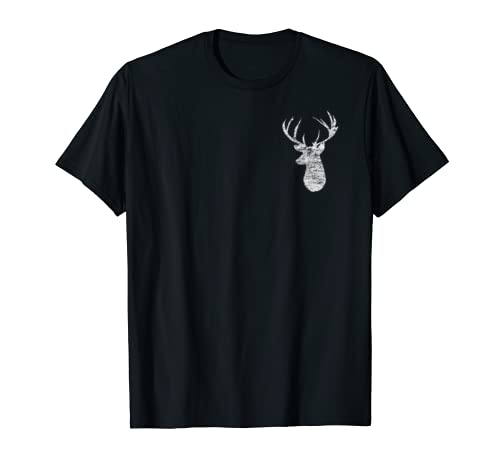 Camouflage Flag Deer Hunting 2-Sided T-shirt