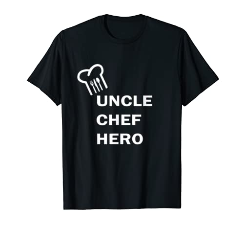 Uncle Chef Hero Father's Day T-shirt
