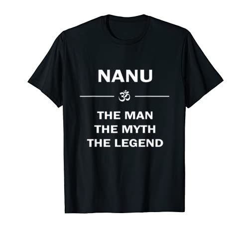 Nanu Grandfather T-shirt for Father's day