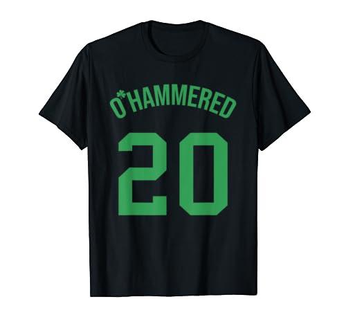 Irish O'hammered 20 St Patrick Day Shirt