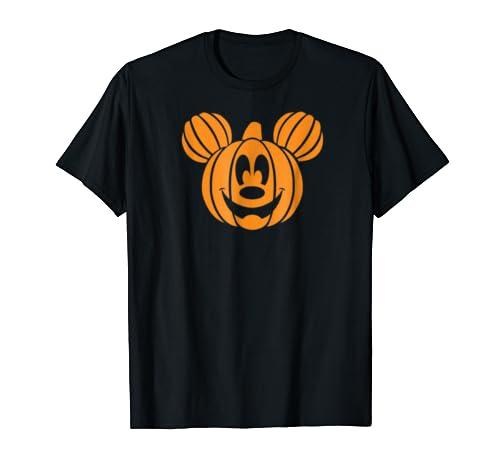 Disney Mickey Mouse Halloween Pumpkin head T-shirt