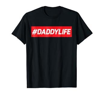 Amazon Com Daddylife Proud Father Baby Shower Gift Idea Tshirt