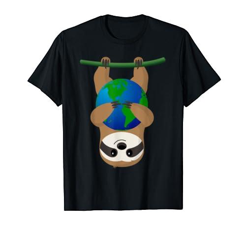Earth Day Love The Earth Sloth Shirt
