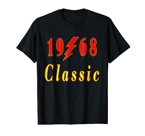 1968 Classic Rock 50th Birthday Gift T Shirt