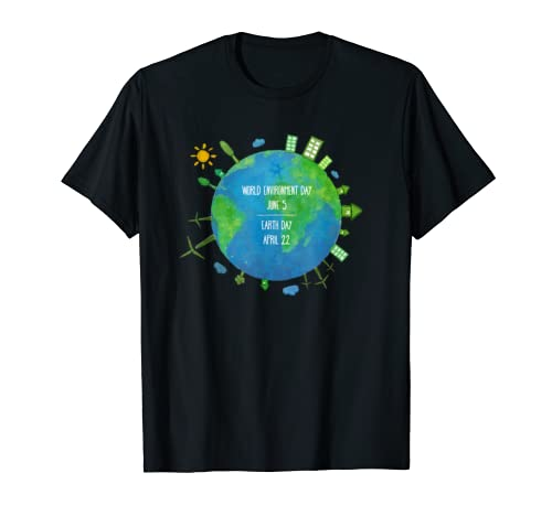 World Environment Day And Earth Day | Earth Matters T-Shirt