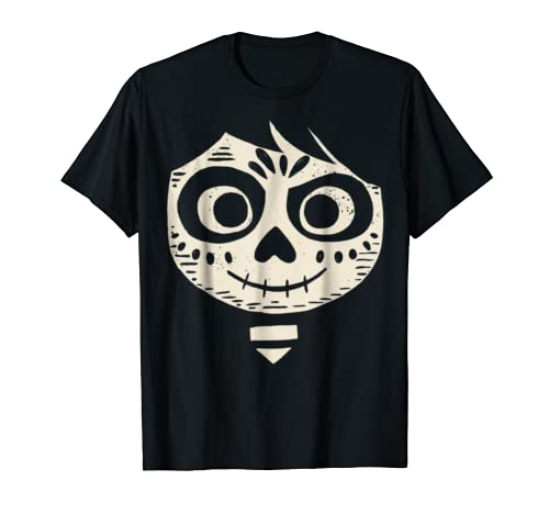 Disney Pixar Coco Miguel Face Halloween Graphic T-Shirt