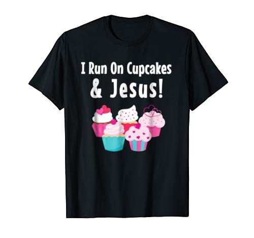 Cute Cupcake Shirt Jesus Funny Cake Pastry Chef Baker TShirt