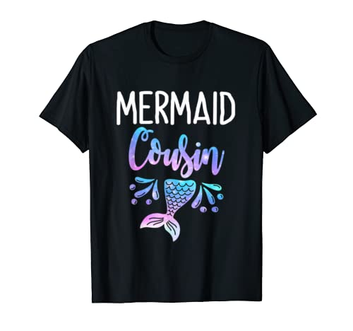 Mermaid Cousin Birthday Party Mother's Day T Shirt