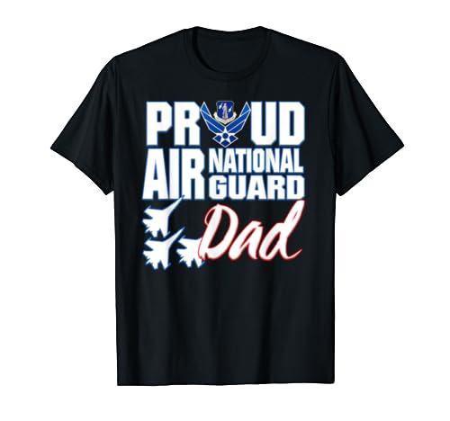 Air National Guard Dad Shirt USA Air Force Military