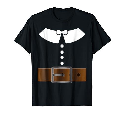 0f36d6eebee83 Pilgrim Thanksgiving Costume T-Shirt