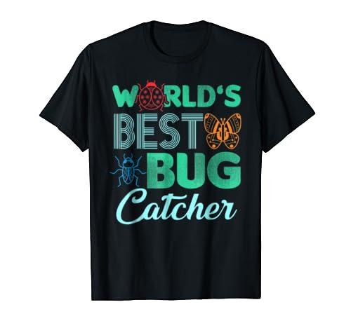 Worlds Best Bug Catcher T Shirt – Bug Hunter Shirt For Kids