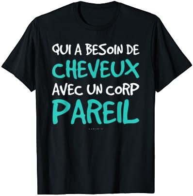 Homme T-shirt Humour Chauve – …