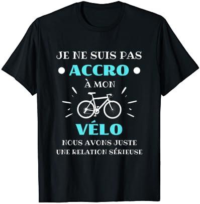 Accro vélo humour cycliste hom…
