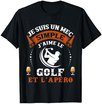 Homme Homme Humour Golf Golfeu…