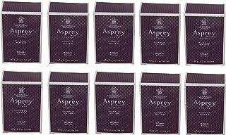 Asprey Purple Water Soap lot of 10 each 2.1oz bars. Total of 21oz