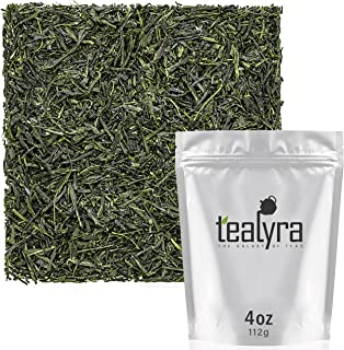 Tealyra - Hibi Uji Gyokuro - Luxury Japanese Green Tea - Rich Umami - High Antioxidants Pure Green Tea - Medium Caffeine - 112g (4-ounce)