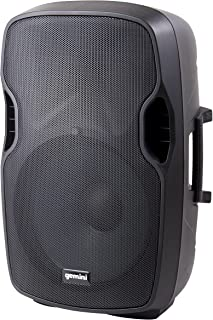 """Gemini AS Series AS-10P Professional Audio 10-inch Portable Active PA Loudspeaker with Equalizer Mix Output, Mic and Line XLR, 1/4"""" & RCA inputs"""