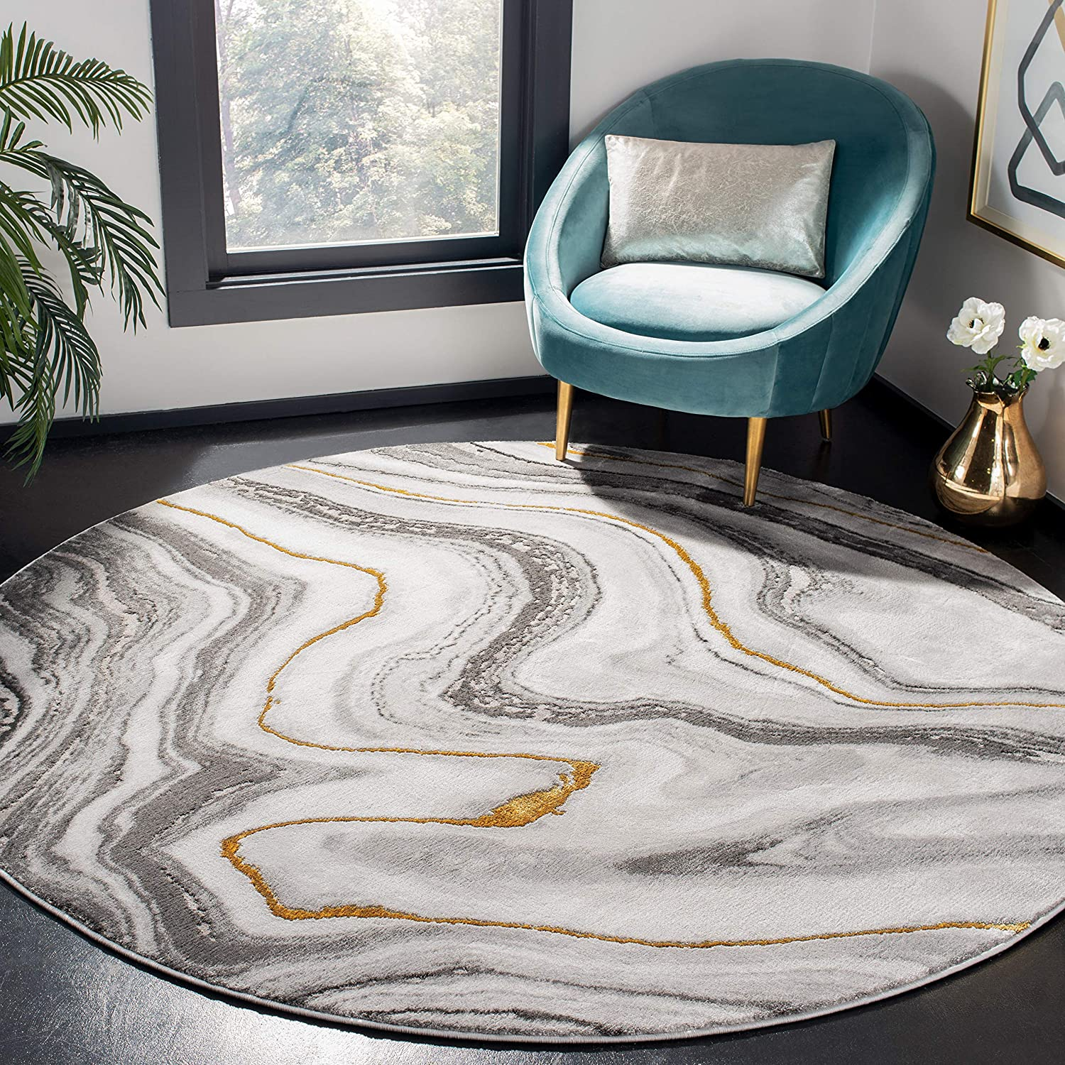 Safavieh Craft Collection CFT819F Non-Shedding Award-winning store OFFicial shop Abstract Modern S